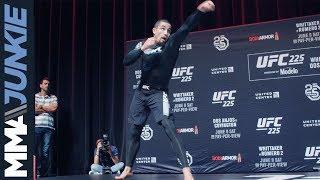UFC 225: Robert Whittaker open workout
