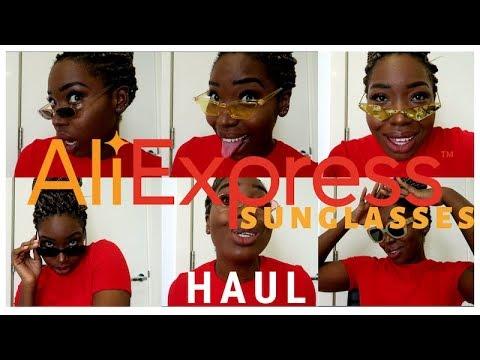 13 SunGlasses for £41 on Aliexpress   Aliexpress Haul