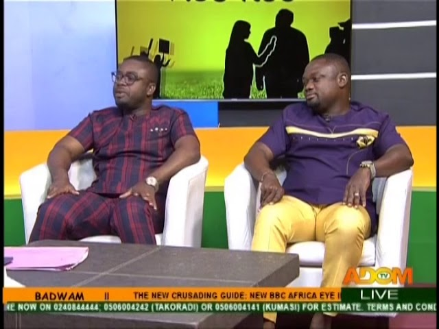 Exclusive With Willie And Mike - Badwam on Adom TV (13-8-18)