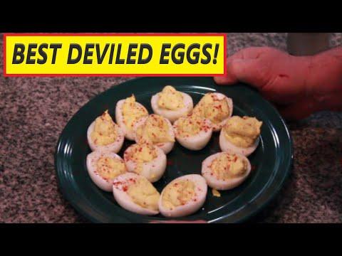 Deviled Egg Recipe – Best Deviled Eggs Recipe!