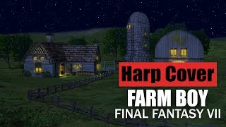 Final Fantasy VII - Farm Boy [Harp Cover]