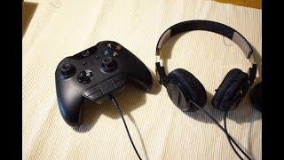 Kopfhörer an Xbox One anschließen - Headset Adapter von Microsoft