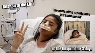 I GOT RUSHED TO THE HOSPITAL AGAIN...... (almost died)