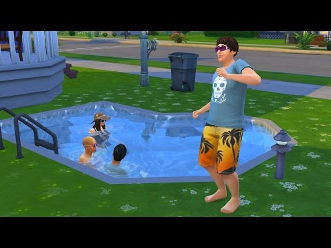 The Sims 4 - Pool Party [20]