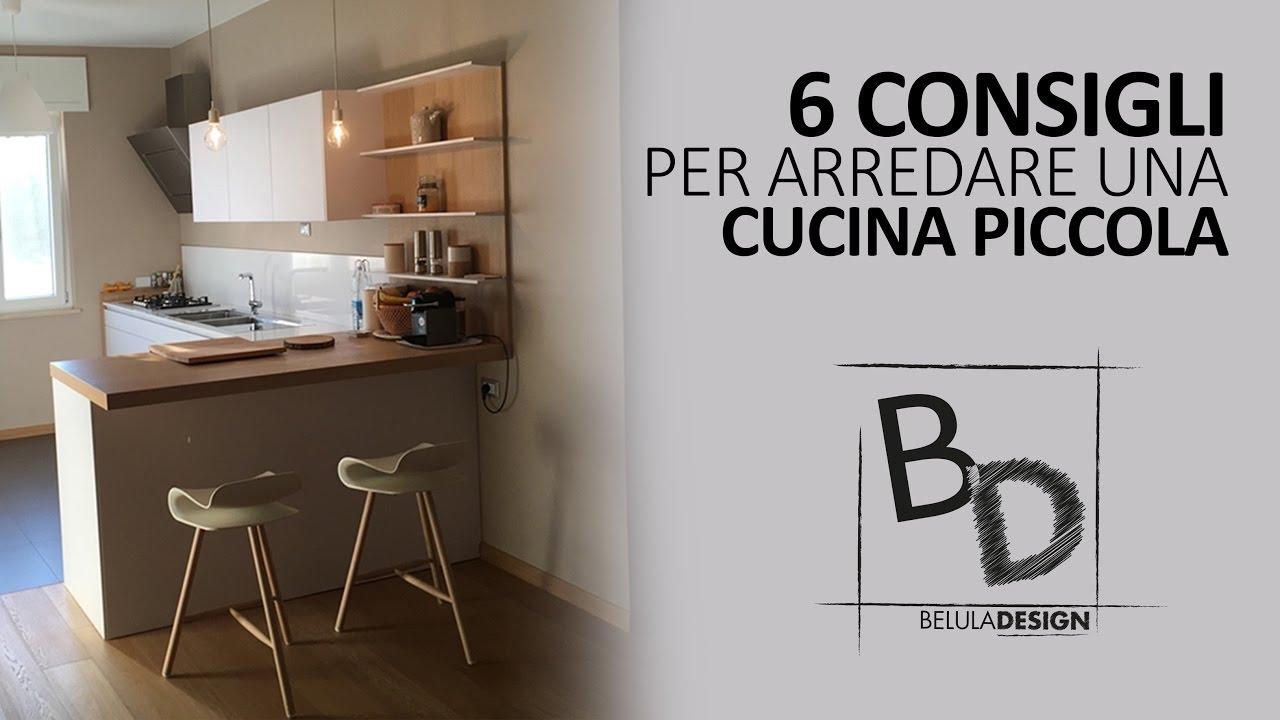6 Consigli per Arredare: CUCINA PICCOLA | Belula Design - YouTube