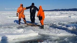На Сахалине 600 рыбаков на льдине оторвались от берега