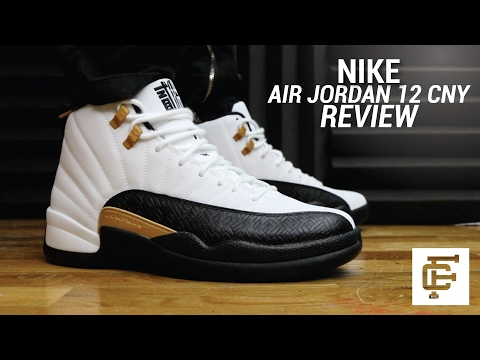 AIR JORDAN 12 CNY REVIEW