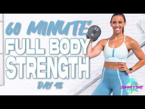 60 Minute Full Body Strength Workout   Summertime Fine 3.0 - Day 48