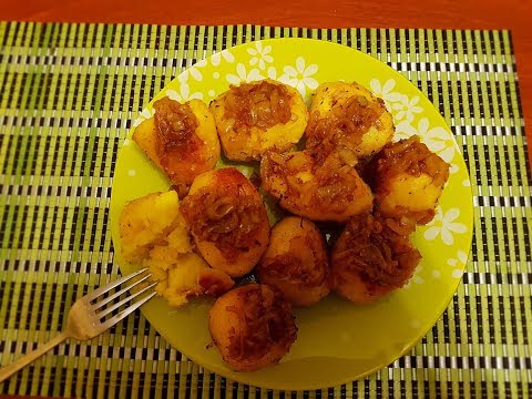 сказочно вкусная запеченная картошка в духовке