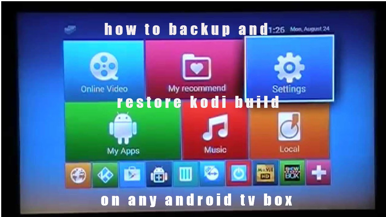 How To Reset Kodi Build Android
