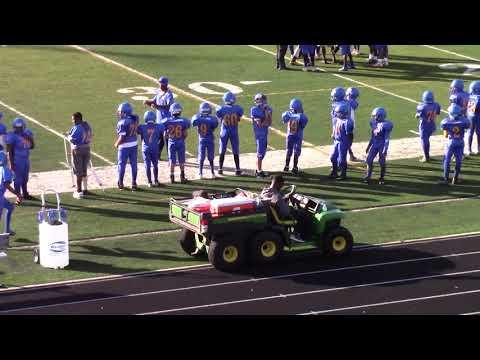 Fleming vs Patrick Henry, 8th grade football
