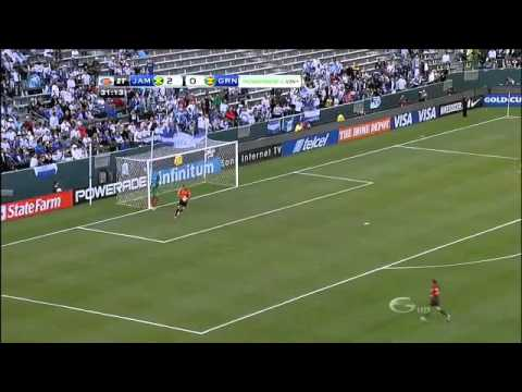 CONCACAF Gold Cup 2011 Group B Jamaica 4-0 Grenada - Highlights 06/06/2011