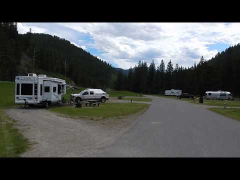 Moose Creek Flat Campground (YELLOWSTONE AREA) - Gallatin National Forest - Montana