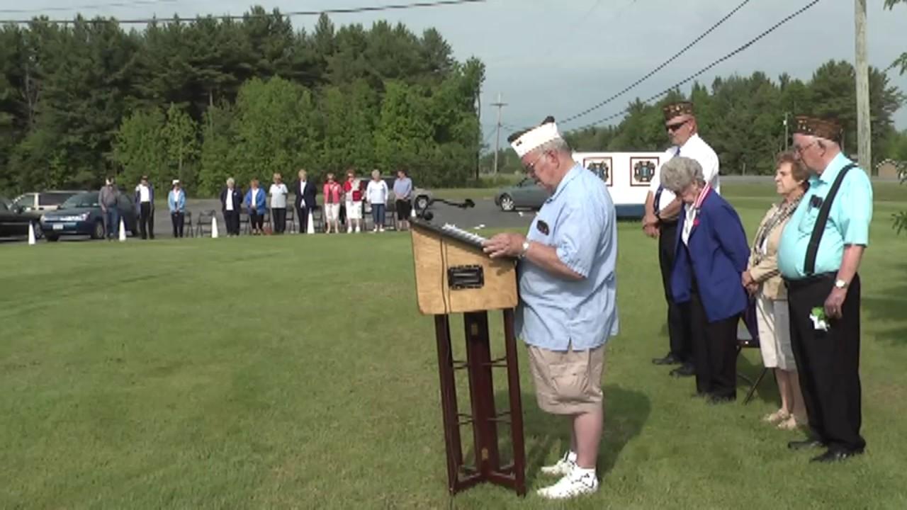 VFW 1418 Memorial Day  5-28-12