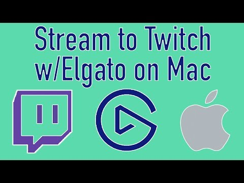 How To Stream To Twitch W/Elgato Game Capture HD + Overlays On Mac
