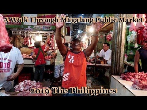 A Walk Through Magalang Public Market : 2019 The Philippines