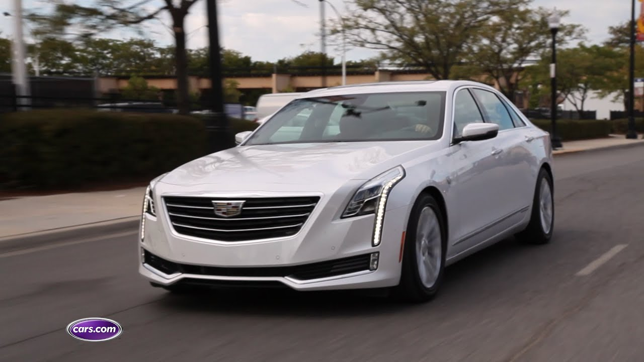 2017 Cadillac Ct6 Plug In Hybrid Cars