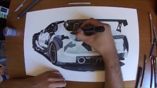 Drawing Toyota Supra