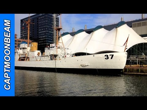 USCGC Taney at Baltimore Inner Harbor
