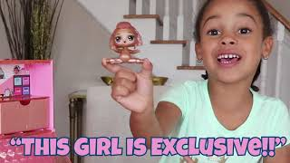 Unboxing LOL Surprise Pop Up Store + Exclusive LOL Doll
