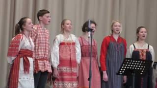 Детский фольклорный ансамбль ''Кладец'' - Гвардейцы, вы стяжали славу! Библиотека ин. лит. 09.04.2017