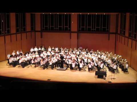 2013 Prairie Creek 6th grade band concert  Aftershock