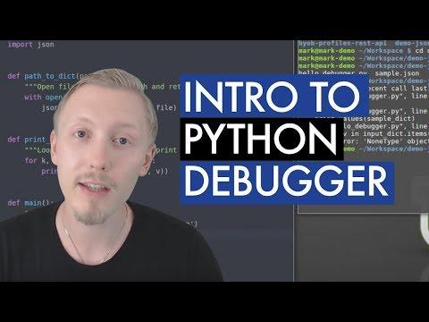 Introduction to the Python Debugger