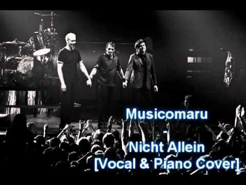 die ärzte - Nicht Allein (Vocal & Piano Cover)