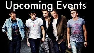 Upcoming Events  One Direction (1D- Activities)