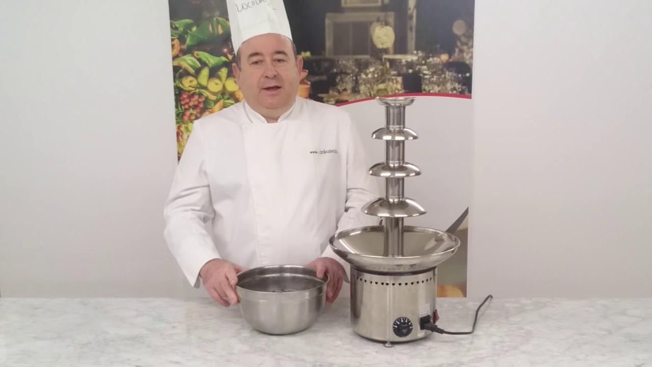 Cómo Montar Una Fuente De Chocolate La Receta De Raúl Youtube
