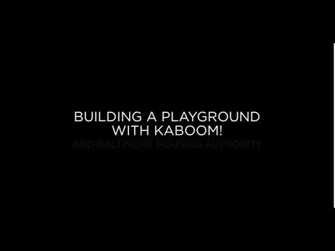 Building a Playground in Baltimore City