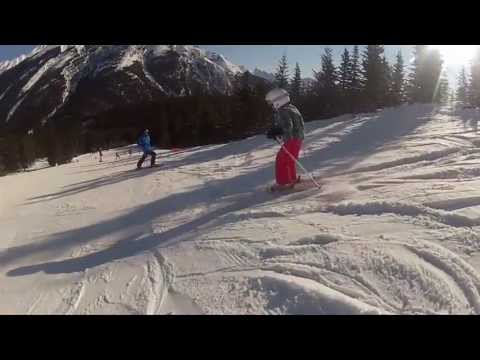 Ski Big 3 --  Skiing in Banff National Park, Alberta, Canada
