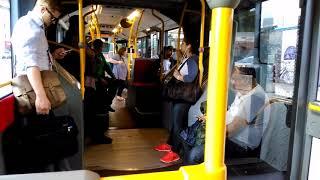 Mitfahrt in einem C2 G der Hamburger Hochbahn