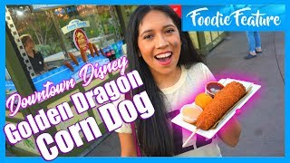 The Golden Dragon Corn Dog is Delicious and Now at Downtown Disney!