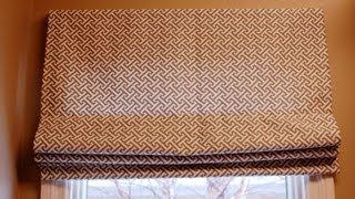 Римские шторы(В этом видео подробно показано как пошить римские шторы своими руками. http://portnoyy.justclick.ru/ - Приобретайте самы..., 2013-04-16T12:39:43.000Z)