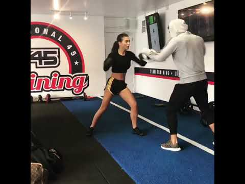 Amy Jackson- Hot and Sexy Kickboxing and Workout