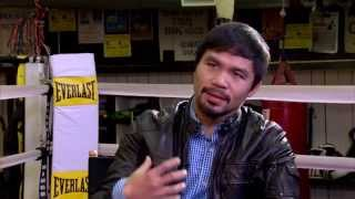 Manny Pacquiao | My Empty Life Before God Changed Me | Jan 22, 2015