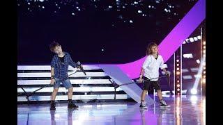 Sebi &amp Dani, doi pusti care fac spectacol pe scena de la Next Star!