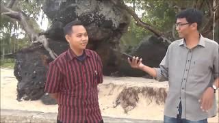 PANTAI BATU BERDAUN Tourism Object Di Dabo - Kepulauan Riau