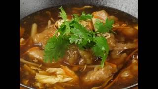 豆油伯健康煮-五香手打肉羹湯