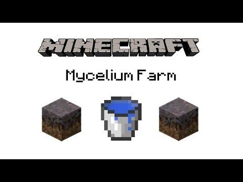 Minecraft Tutorials Ep. 1 How To Make A Mycelium Farm