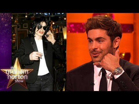 Zac Efron Made Michael Jackson Cry!  The Graham Norton