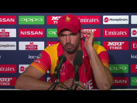CWCQ Zimbabwe Graeme Cremer Post match press conference 22th March 2018