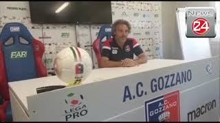 Gozzano-Borgosesia: conferenza stampa dopo partita