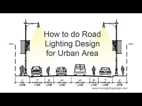 Urban Road Lighting Design