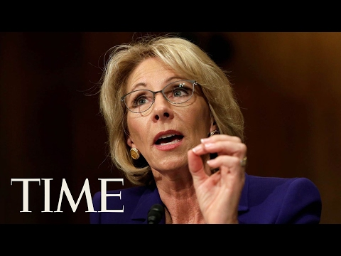 U.S. Senate Confirms Betsy DeVos As Education Secretary | TIME