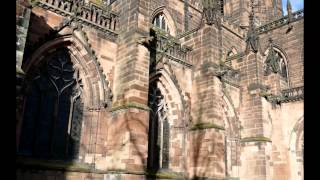Chester (Cheshire UK) Cathedral  + St Johns on the cliff,  and historic walk about.