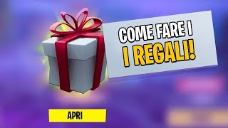 COME FARE I REGALI! VI REGALO Skin Season 7! Fortnite Italia