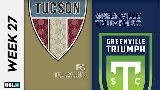 FC Tucson Vs. Greenville Triumph SC September 24th 2019