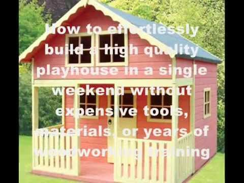 how to build a playhouse youtube